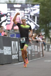 Finishing at Ironman Arizona 2016